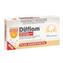 Difflam 消炎抗病毒含片(蜂蜜柠檬味)16片