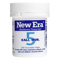 New Era - Tissue Salt No.  5 Kali. Mur. Tablets 240