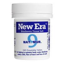 New Era - Tissue Salt No.  9 Nat. Mur. Tablets 240