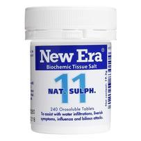 New Era - Tissue Salt No. 11 Nat. Sulph. Tablets 240