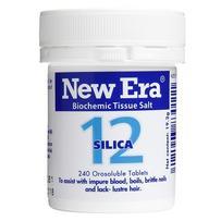 New Era - Tissue Salt No. 12 Silica. Tablets 240
