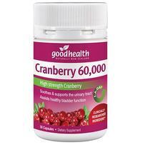 Good Health 好健康 60000mg蔓越莓精华胶囊 50粒(促进泌尿系统健康)
