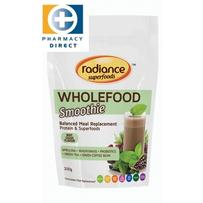 Radiance Superfoods Wholefood Smoothie Powder 200g - Mint Cacao