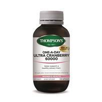 Thompson's 汤普森 60,000 蔓越莓胶囊 120粒