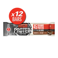 Musashi High Protein Bars 12 x 90g - Cookies & Cream