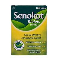 Senokot Tablets 100 - 每单限购1件