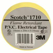 USL Electrical Tape YELLOW - 18mm x 20m - For additional Fixation of tapes and dressings