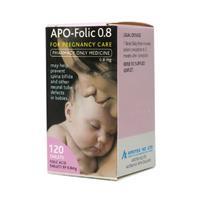 APO Folic Acid 0.8mg 120