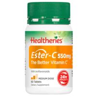 Healtheries 贺寿利 维生素C咀嚼片 550mg 60片