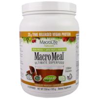 MacroLife Naturals Macro Meal Vegan Protein - 675g - Chocolate