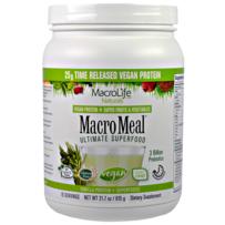 MacroLife Naturals Macro Meal Vegan Protein - 615g - Vanilla