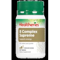 Healtheries 贺寿利 强效复合维生素B族营养片 60片