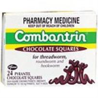 Combantrin 儿童驱虫巧克力 24块装 每单限购2件