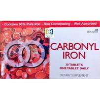 Carbonyl Iron Tabs 18mg 30