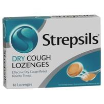 Strepsils 使立消 干咳润喉糖 16粒