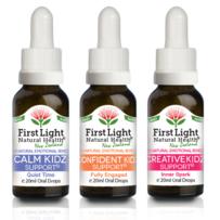 First Light Natural Health Happy Kidz Kit 3 x 20ml
