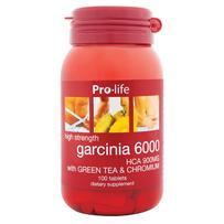 prolife Garcinia 6000 HCA 900MG Tablets 100