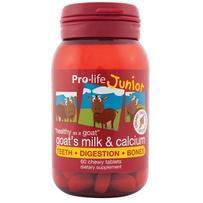 prolife 儿童高钙山羊奶咀嚼片 60片-巧克力味