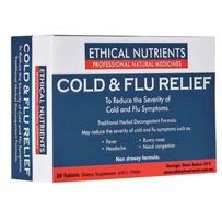 Ethical Nutrients 感冒流感缓解片 30片