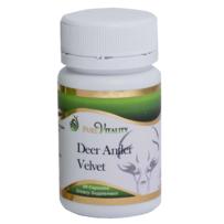 Pure Vitality Deer Antler Velvet Capsules 60