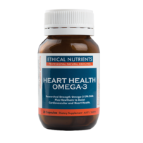 Ethical Nutrients 心脏健康Omega-3胶囊 60粒