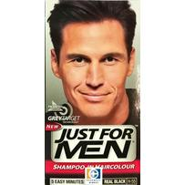 Just For Men HAIR COLOUR - Natural Real Black