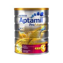 Aptamil 爱他美 白金版婴幼儿奶粉 900g 4段 (6罐包邮装)
