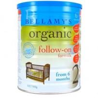 Bellamy's 贝拉米 有机婴幼儿奶粉 900g 2段 6罐包邮装
