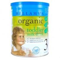 Bellamy's 贝拉米 有机婴幼儿奶粉 900g 3段 6罐包邮装