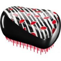 【凯特王妃最爱】Tangle Teezer 专业解发美发梳 豪华便携型 红唇/黑白条纹