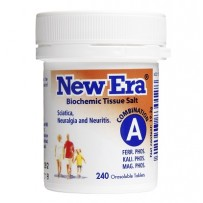 New Era - Tissue Salt Combination A Tablets 240