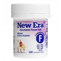 New Era - Tissue Salt Combination F Tablets 240