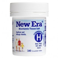 New Era - Tissue Salt Combination H Tablets 240