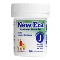 New Era - Tissue Salt Combination J Tablets 240