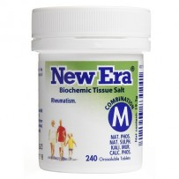 New Era - Tissue Salt Combination M Tablets 240