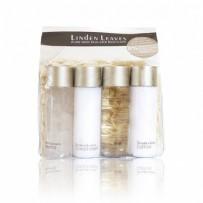 Linden Leaves 护肤乳+沐浴啫喱+洗发露+护发素 4x45ml 旅行装