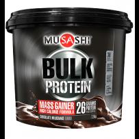 Musashi Bulk Mass Gain Protein Blend 2.28kg - Chocolate