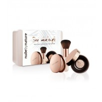 Nude By Nature Set Adrift Full Size Complexion Collection - Light/Medium