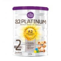 A2 白金版婴幼儿奶粉 900g 2段 6罐包邮装