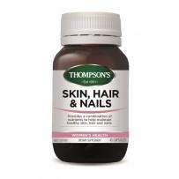 Thompson's 汤普森 胶原蛋白胶囊(皮肤头发指甲营养)45粒