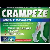 CRAMPEZE Night Cramps Capsules 30