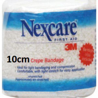 Nexcare - Medium Crepe Bandage 10cm x 1.6m