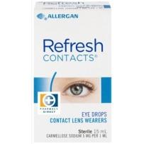 Refresh  Contacts 抗疲劳无防腐剂滴眼液 15ml
