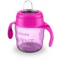 Philips Avent 新安怡 6月以上婴幼儿饮水杯 200ml(红色/紫色)