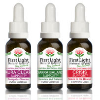 First Light Natural Health Wellbeing Kit 3 x 20ml