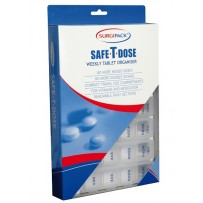 SurgiPack Safe-T-Dose Weekly Tablet Organiser - Large