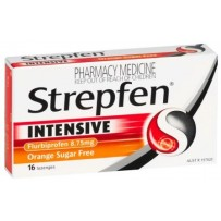 Strepfen Intensive Orange Lozenges 16