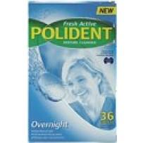 Polident Overnight Denture Tablets 36