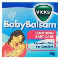 Vicks 维克斯 儿童专用止咳通鼻香膏(3个月以上)50g