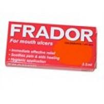 Frador Mouth Ulcer Liquid 3.5mL